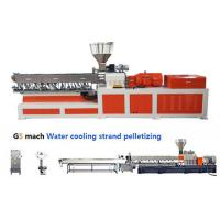 Quality Electrical Control  PP ABS Double Screw Extruder Water Strand Pelletizing Line wholesale