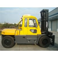 Quality Diesel Powered Forklift 12 Ton , Container Mast Forklift  With Fork Positioner wholesale