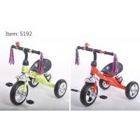 Best Cheap rubber wheels tricycle for kids with metal frame plastiic pedal tricycle for sale wholesale