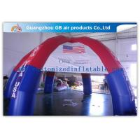 Colorful Outdoor Dome inflatable tailgate tent personalized canopy tent with 6 Legs