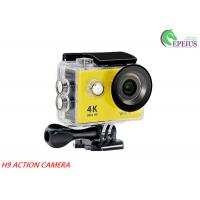 "Quality H9 WiFi Waterproof 30M 1080P HD Action Camera 2.0"" LCD OV4689 170Degree Sports DV wholesale"