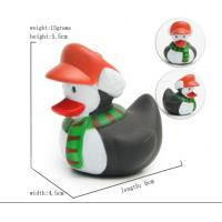 Cute Deer / Penguin Christmas Rubber Duck Baby Tub Toys 6cm Length *4.5cm Height