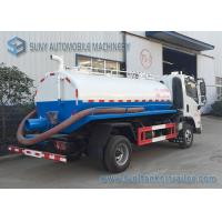 Best FAC 4*2 2m3 Sewage Suction Tanker Truck With Vacuum Pump New Design Waste Water Clean Truck wholesale
