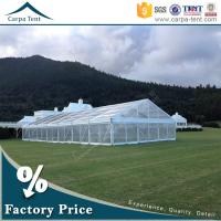 Quality Outdoor Corporate Event Marquees Party Tents with Transparent Walls wholesale