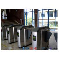 Quality Facial Reader Access Control Flap Barrier Gate Stainless Steel For Entrance wholesale