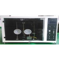 HB Plastic Material Vertical Flammability Test , UL94 Vertical Flame Test Chamber