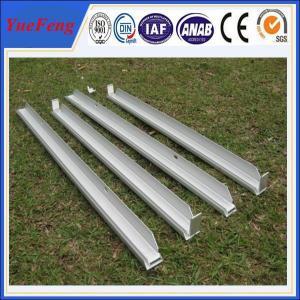 customized industrial aluminium profile,aluminium profile of solar panel frame,OEM