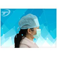 Quality Disposable surgical cap with elastic , polypropylene fabirc , sweat absorption type wholesale