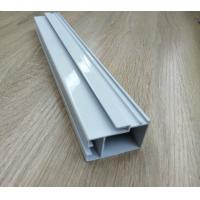 Quality High Hardness Powder Coated Aluminium Extrusions For Doors / Windows Corrosion Resistance wholesale