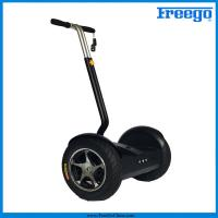 "Best Black Electric Self Balance Scooter with 17"" wheel 1000 motor remote controller for  Amusements wholesale"