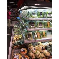 Quality Grey Powerful Commercial Display Freezer With Four Side Display Open Chiller wholesale