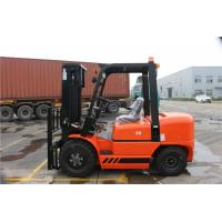Quality Counter Balance Diesel Forklift Truck With ISUZU C240 Engine Pneumatic Tire wholesale