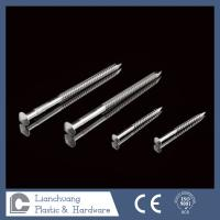 Best 50mm Ring Shank Nails Rose Head Stainless Steel SUS316 wholesale