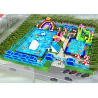 Buy cheap System Project Inflatable Water Park With Pool Slide For Land CE / UL Certificat from wholesalers