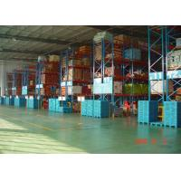 Quality High Capacity Storage Pallet Warehouse Racking / Selective Pallet Racking System wholesale