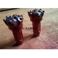 7-15 Bar Air Pressure CIR130 DTH Drill Bits For Drilling Hole Flat Face Type