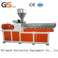 Quality Parallel Twin Screw Extruder Filler Masterbatch Machine 12 Months Warranty wholesale