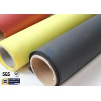 Quality Fiberglass Fabric Acrylic Coated Fire Welding Blanket Cloth Roll 0.45MM 260℃ wholesale