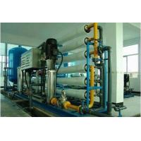 Industrial Ultrafiltration Membrane System , 5000 LPH Membrane Filtration Equipment