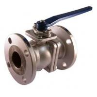 Stainless Steel 2 Piece Full Port Ball Valve with Flanged Connection Class 150