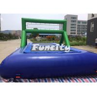 Best 0.9MM PVC Tarpaulin 8M*4M*3M Inflatable Water Volleyball Court,Inflatable Water Bossball For Sport Games wholesale