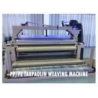Best Green Plastic Tarpaulin Making Machine Water Jet Powered High Performance wholesale