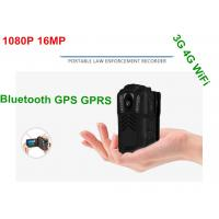 Quality Battery Operated HD Wifi Body Camera , Police Personal Body Video Camera wholesale