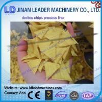 Quality Easy Operation Triangle Corn Chips Doritos Tortilla Machine For Food wholesale