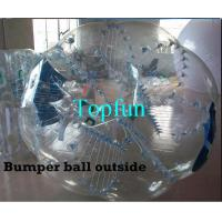 Quality Outdoor Sports Inflatable Body Bumper Ball 1.00mm PVC Zorb Bumper Ball wholesale