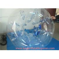 Best Clear 1.5m TPU Inflatable Bubble Ball For Young , Outdoor Games Inflatable Bumper Bubble Ball wholesale