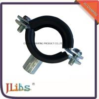 Best Heavy / Light Pipe Pipe Strap Clamp Cast Iron Welding Type Clamps M8 + 10 With Rubber wholesale