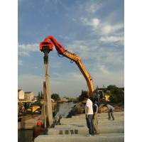 Buy cheap TYSIM VS400 Excavator Mounted Pile Driver / Pile Driving Hammer 2.15t from wholesalers
