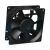 Quality Industrial Small Electronics Plastic Dc Ventilation Fan , Ball Bearing DC Motor Fan wholesale