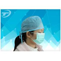 Quality Blue Disposable Nonwoven Doctor Cap/Caps With Tie On Or Elastic  61*14cm wholesale