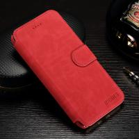 Stand Function Iphone 7 Plus Leather Wallet Case Matting PU Vintage Flip Cover