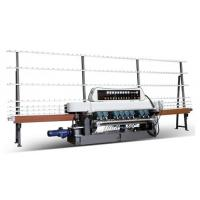 GLASS STRAIGHT-LINE BEVELING MACHINE WITH 9 SPINDLES