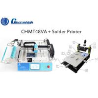 High Precise Manual Solder Printer Pick And Place Vision System Surface Mount Device
