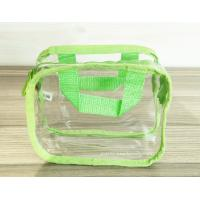 Quality Simple Girl Transparent PVC Cosmetic Bags Clear Vinyl Travel Kit wholesale
