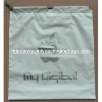 Quality EVA Transparent White LDPE Frosted Small Plastic Drawstring Bags wholesale