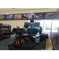 Cool LEKE Fire 3 Games 9D Virtual Reality Simulator For Amusement Centre