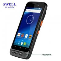 Quality Handheld Terminal 5 Inch Industrial Smartphone With Fingerprint 2D Scanner And Docking Station wholesale