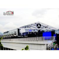 Transparent  Roof Cover  20X40M Outdoor Event Tents With Inside Decoration