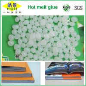 Hot Melt Adhesive For Bookbinding , White Perfect Binding Glue To Bind Books