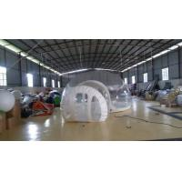 Best Inflatable Transparent Bubble Tent Belt Steel for Outdoor Camping wholesale