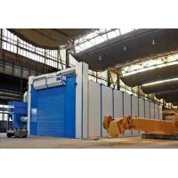 Quality Safety Shot Blasting Room Automatic Recycling System For Engineering Machinery wholesale