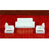 Quality Architectural Scale Model Home Furnishing 1:50 ABS Living Room Sofa  wholesale
