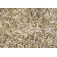 Buy cheap 0.5 mm Mappa Burl Wood Veneer , Nardwood Thin Wood Veneer Sheets from wholesalers