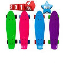Fashionable 22 inch plastic retro cruiser skateboard for Christmas