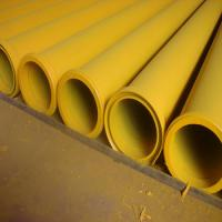 "5"" MF End Concrete Pump Pipes , Concrete Pump Delivery Pipe Thickness 5MM"