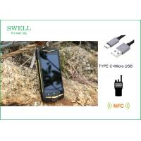 Best Android 5.1 NFC 1D 2D Scanner PTT Industrial Smartphone Rugged Outdoor SmartPhone wholesale
